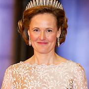 NLD/Amsterdam/20130429- Afscheidsdiner Konining Beatrix Rijksmuseum, princess Sophie of Liechtenstein