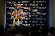 Wide receiver Odell Beckham Jr of the New York Giants during the New York Giants Press Day  at Syon House, Brentford, United Kingdom on 21 October 2016. Photo by Jason Brown.
