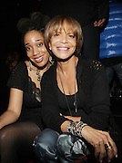 """l to r: Margeux Watson and Slyvia Rhone at The YRB Magazine's """" How You Rock It 3 """" with a special performance by Busta Ryhmes and hosted by YRB held at M2 Lounge on May 19, 2009 in New York City."""
