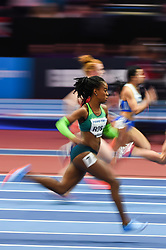 March 2, 2018 - Birmingham, Gangwon, United Kingdom - Vitoria Christina Rosa ofBrazil at 60m, heat 1, at World indoor Athletics Championship 2018, Birmingham, Englandon March 2, 2018. (Credit Image: © Ulrik Pedersen/NurPhoto via ZUMA Press)