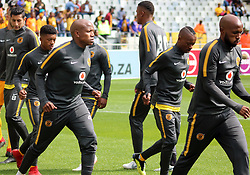 PSL: Lebogang Manyama Chiefs warm-up - Cape Town City v Kaizer Chiefs, 15 September 2018