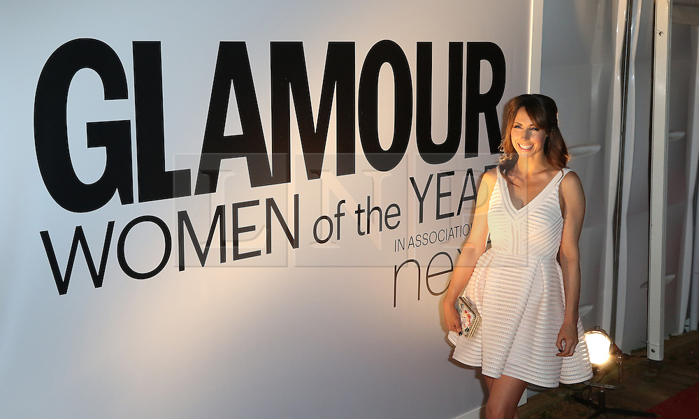 Alex Jones, Glamour Women of the Year Awards, Berkeley Square Gardens, London UK, 02 June 2014, Photos by Richard Goldschmidt /LNP © London News Pictures