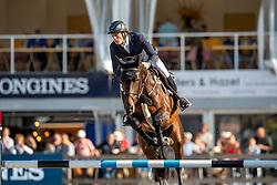 Greve Willem, NED, Opium JW van de Moerhoeve TN<br /> FEI WBFSH Jumping World Breeding Championship for Young Horses<br /> Lanaken 2019<br /> © Hippo Foto - Dirk Caremans<br />  22/09/2019