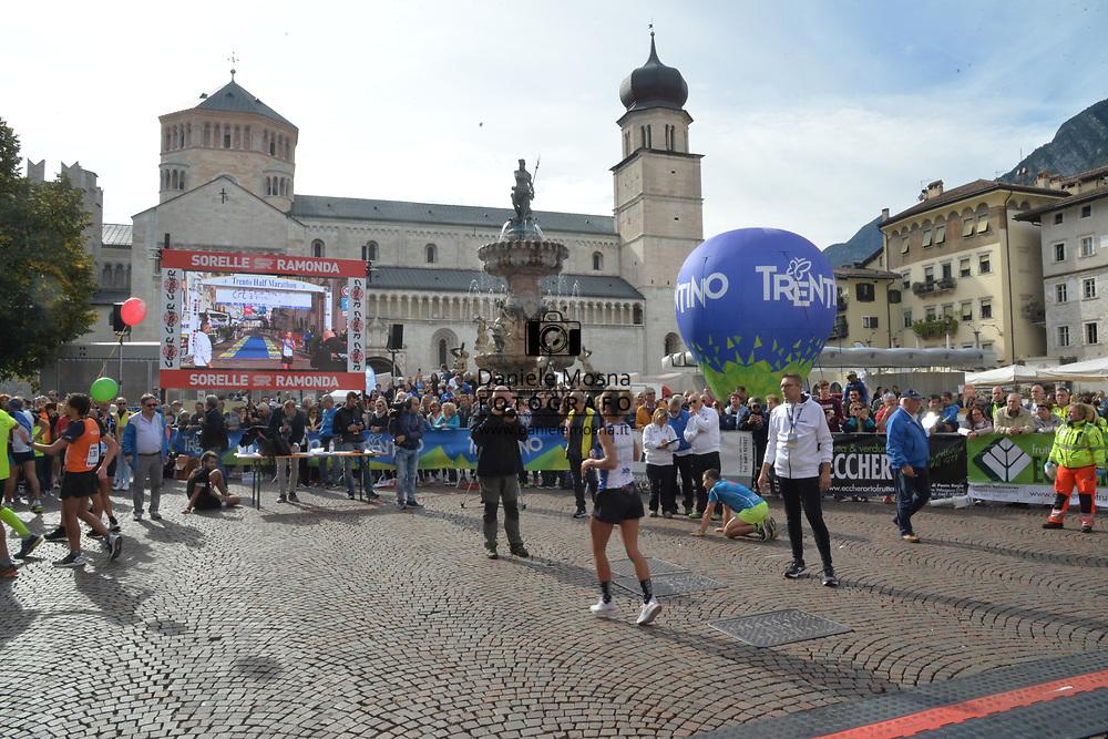 9ª Semi Maratona di Trento Half Marathon - 6 ottobre 2019 –  Corsa su strada internazionale -  06.10.2019, Trento, Trentino, Italia. <br /> © Daniele Mosna WWW.DANIELEMOSNA.IT