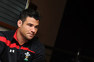 Mike Phillips. .Wales rugby team training at the Millennium stadium in Cardiff on Friday 10th Feb 2012.  pic by Andrew Orchard, Andrew Orchard sports photography,