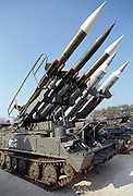 BUK-M2E is a Russian made surface to air missile. Known as SA-17, the weapons are mounted on a tracked vehicle. It fires 9M317 and 9M38M1 missiles up to a range of 50 km and up to 21 kilometers in the air. This version is widely dispersed to the former Soviet Warsaw Pact countries.