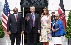 Trumps Welcome Kenyattas of Kenya - 27 Aug 2018