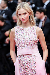 "CANNES - MAY 21: Sasha Luss arrives to the premiere of "" ONCE UPON A TIME... IN HOLYWOOD "" during the 2019 Cannes Film Festival. 21 May 2019 Pictured: Sasha Luss. Photo credit: Lyvans Boolaky/imageSPACE / MEGA TheMegaAgency.com +1 888 505 6342"