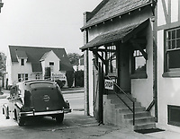1950 Guard shack at Chaplin Studios on La Brea Ave.