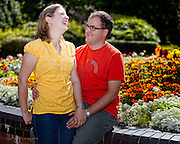 Anne and Andy's Pre-Wedding Photographs at West Bridgford Register Office, Nottignhamm