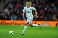 Toni Duggan of England Women<br /> - Womens International Football - England vs Germany - Wembley Stadium - London, England - 23rdNovember 2014  - Picture Robin Parker/Sportimage