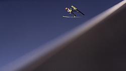 28.02.2019, Seefeld, AUT, FIS Weltmeisterschaften Ski Nordisch, Seefeld 2019, Skisprung, Herren, Qualifikation, im Bild Stefan Kraft (AUT) // Stefan Kraft of Austria during his Qualification Jump of men's Skijumping of FIS Nordic Ski World Championships 2019. Seefeld, Austria on 2019/02/28. EXPA Pictures © 2019, PhotoCredit: EXPA/ JFK