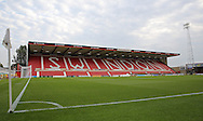 Swindon County Ground during the EFL Trophy match between Swindon Town and U23 Chelsea at the County Ground, Swindon, England on 13 September 2016. Photo by Gary Learmonth.