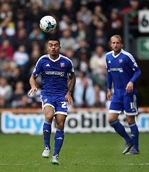 Nico Yennaris of Brentford controls the ball - Mandatory byline: Robbie Stephenson/JMP - 07966 386802 - 03/10/2015 - FOOTBALL - iPro Stadium - Derby, England - Derby County v Brentford - Sky Bet Championship