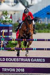 Klaphake Laura, GER, Catch Me If You Can 21<br /> World Equestrian Games - Tryon 2018<br /> © Hippo Foto - Dirk Caremans<br /> 23/09/2018