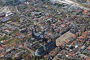 Nederland, Zuid-Holland, Delft, 09-05-2013; centrum<br /> <br /> QQQ<br /> luchtfoto (toeslag op standard tarieven)<br /> aerial photo (additional fee required)<br /> copyright foto/photo Siebe Swart