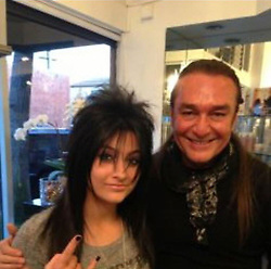 "Paris Jackson releases a photo on Twitter with the following caption: """"hey guys remember when i thought i belonged in a def leppard cover band"""". Photo Credit: Twitter *** No USA Distribution *** For Editorial Use Only *** Not to be Published in Books or Photo Books ***  Please note: Fees charged by the agency are for the agency's services only, and do not, nor are they intended to, convey to the user any ownership of Copyright or License in the material. The agency does not claim any ownership including but not limited to Copyright or License in the attached material. By publishing this material you expressly agree to indemnify and to hold the agency and its directors, shareholders and employees harmless from any loss, claims, damages, demands, expenses (including legal fees), or any causes of action or allegation against the agency arising out of or connected in any way with publication of the material."