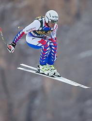 18.12.2013, Saslong, Groeden, ITA, FIS Ski Weltcup, Groeden, Abfahrt, Herren, 1. Traininglauf, im Bild Johan Clarey (FRA) // Johan Clarey of France in action during mens 1st downhill practice of the Groeden FIS Ski Alpine World Cup at the Saslong Course in Gardena, Italy on 2012/12/18. EXPA Pictures © 2013, PhotoCredit: EXPA/ Johann Groder
