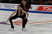 Evelyn Walsh and Trennt Michaud from Canada competes in the Pairs Short Program during the ISU - Four Continents Figure Skating Championships, at the Honda Center in Anaheim California, February 5-10, 2019