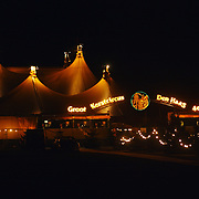 Kerstshow Groot Russisch Staatscircus, tent