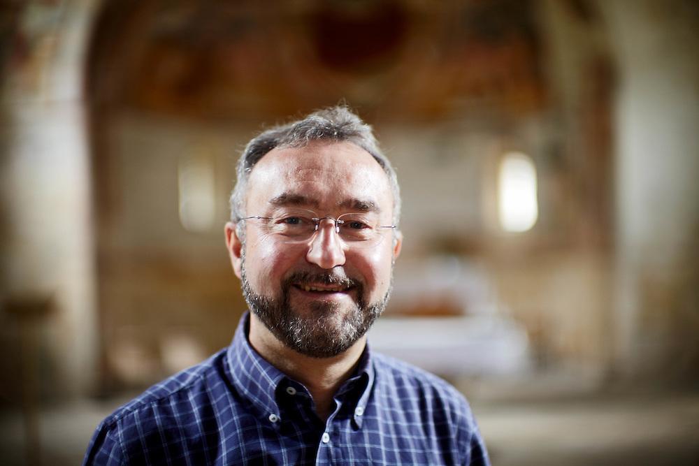 Tenno (TN) - Padre Franco Pavesi, parroco di Cologna e Gavazzo.