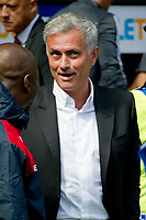 Football - 2017 / 2018 Premier League - Swansea City vs. Manchester United<br /> <br /> Manchester Utd manager Jose Mourinho before the game —<br /> , at Liberty Stadium.<br /> <br /> COLORSPORT/WINSTON BYNORTH
