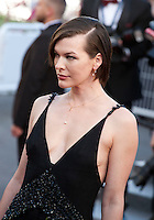 Milla Jovovich at the gala screening for the film The Last Face at the 69th Cannes Film Festival, Friday 20th May 2016, Cannes, France. Photography: Doreen Kennedy