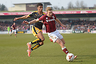 Northampton Town Midfielder Lee Martin  during the Sky Bet League 2 match between Northampton Town and Cambridge United at Sixfields Stadium, Northampton, England on 12 March 2016. Photo by Dennis Goodwin.