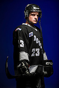 PRICE CHAMBERS / NEWS&GUIDE<br /> Matt Reed traveled up and down the U.S. and Canadian Rocky Mountains chasing his hockey dream for the last five years. His hard work and dedication payed off this year when he won the championship in the Kootenay International Junior B Hockey League.