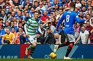 Callum McGregor during the Ladbrokes Scottish Premiership match between Rangers and Celtic at Ibrox, Glasgow, Scotland on 12 May 2019.