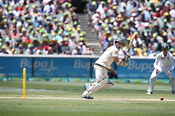 © Licensed to London News Pictures. 29/12/2013. Chris Rogers during Day 4 of the Ashes Boxing Day Test Match between Australia Vs England at the MCG on 29 December, 2013 in Melbourne, Australia. Photo credit : Asanka Brendon Ratnayake/LNP