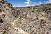 Rio Grande River from Vista Verde Trail, Taos County, New Mexico