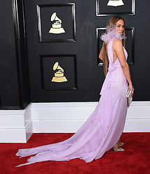 Celebrities arrive on the red carpet for the 59th Grammy Awards held at the Staples Centre in downtown Los Angeles, California. 12 Feb 2017 Pictured: Jennifer Lopez. Photo credit: MEGA TheMegaAgency.com +1 888 505 6342