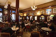 The historic cafe Tortoni on Avenida de Mayo