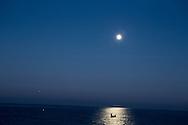 Night fishing off the coast between Unye and Sinop.