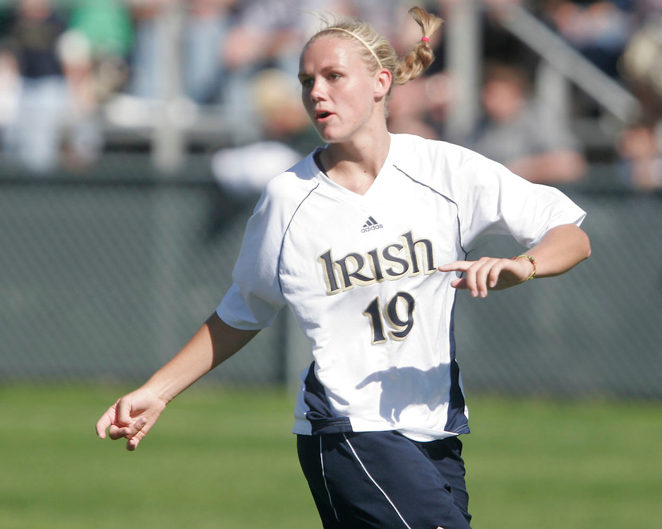 Notre Dame vs. Rutgers<br /> Carrie Dew (Position-Defender, Class-SO)