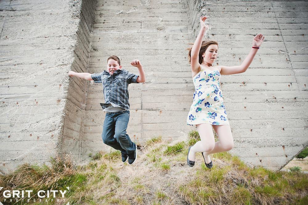 Tacoma family portrait photographer   Grit City Photography
