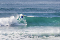 October 12, 2017 - Defending event champion Keanu Asing of Hawaii finished equal 25th in the 2017 Quiksilver Pro France after placing second to Owen Wright of Australia in Heat 2 of Round Two at Hossegor. (Credit Image: © WSL via ZUMA Press)