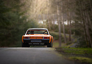 Image of a Signal Orange Porsche 914-6 GT tribute build replica in Fall City, Washington, Pacific Northwest by Randy Wells