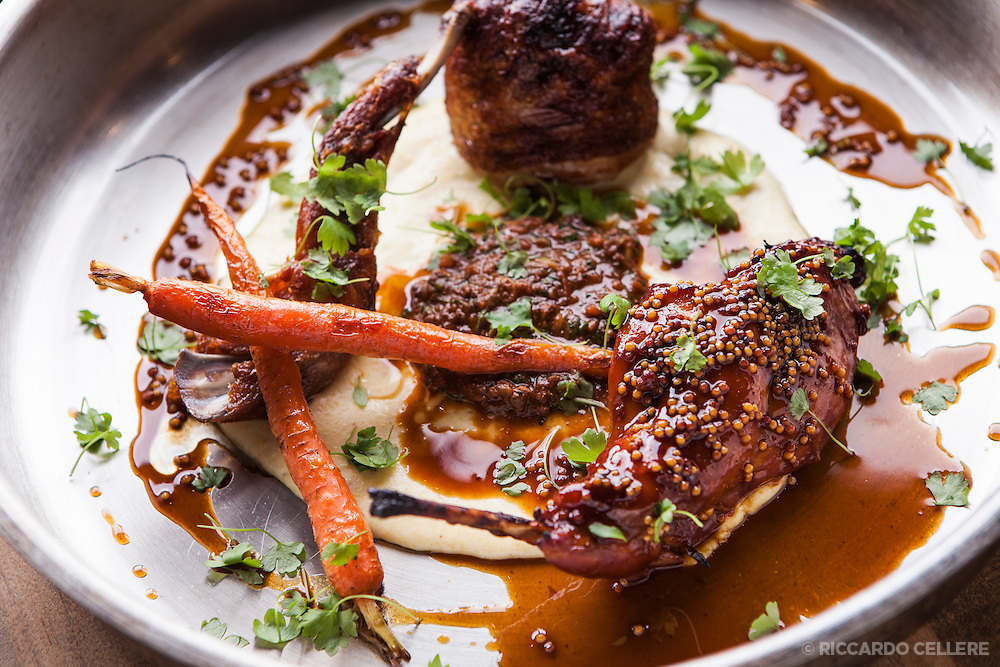 Food photography - Restaurant L'Orignal. Chef Dan Geltner. 2013.