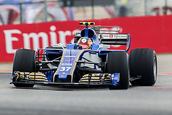 October 20, 2017 - Austin, Texas, U.S - F1 teams in action before the Formula 1 United States Grand Prix race at the Circuit of the Americas race track in Austin,Texas. (Credit Image: © Dan Wozniak via ZUMA Wire)