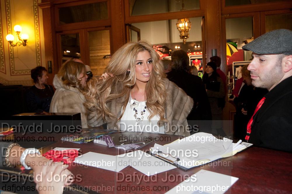 STACEY SOLOMON, CIRQUE DU SOLEIL LONDON PREMIERE OF VAREKAI. Royal albert Hall. 5 January 2009