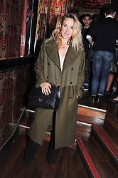 Singer songwriter JESS MILLS at the JW Anderson Top Shop Party held at Madame Jojo's, 8-10 Brewer Street, London W1 on 17th September 2012.