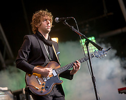 Razorlight on the main stage. Sunday at Party at the Palace 2017, Linlithgow.