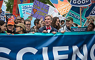Bill Nye  at the March for Science in Washignton D.C.  on Earth Day