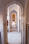 Decorated hall, Rajasthan, India
