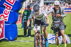 08.09.2018, Lienz, AUT, 31. Red Bull Dolomitenmann 2018, im Bild Lakata Alban (AUT, Red Bull), Rifesser Lukas (AUT, Red Bull) // Lakata Alban (AUT, Red Bull), Rifesser Lukas (AUT, Red Bull) during the 31th Red Bull Dolomitenmann. Lienz, Austria on 2018/09/08, EXPA Pictures © 2018, PhotoCredit: EXPA/ JFK