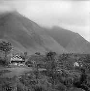 Landscape of the mountainous area of Sapa, Vietnam.2005