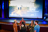 Attendees enjoy the screening of Blood Road at the Bluebird Theater in Denver, CO, USA on 27 June, 2017.
