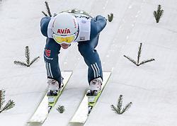 03.01.2014, Bergisel Schanze, Innsbruck, AUT, FIS Ski Sprung Weltcup, 62. Vierschanzentournee, Training, im Bild Marinus Kraus (GER) // Marinus Kraus (GER) during practice Jump of 62nd Four Hills Tournament of FIS Ski Jumping World Cup at the Bergisel Schanze, Innsbruck, <br /> Austria on 2014/01/03. EXPA Pictures © 2014, PhotoCredit: EXPA/ JFK
